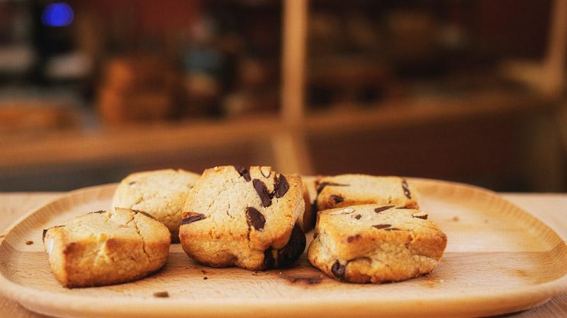 Photo des cookies de la boulangerie bio La Source à Forcalquier 04300