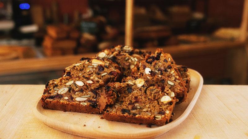 Photo monte cristo de la boulangerie bio La Source à Forcalquier 04300