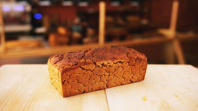 Photo pain sans gluten riz-chataigne-sarrasin de la boulangerie bio La Source à Forcalquier 04300